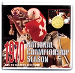 1970 Nebraska National Championship Season DVD Box Set - 50th Anniversary Special! Nebraska Cornhuskers, Nebraska  Show All DVD's, Huskers  Show All DVD's, Nebraska  1962-1972 Devaney Era (101-20-2, .829), Huskers  1962-1972 Devaney Era (101-20-2, .829), Nebraska  Season Box Sets, Huskers  Season Box Sets, Nebraska  Best Picks, Huskers  Best Picks, Nebraska 1970 Nebraska National Championship Season DVD Box Set, Huskers 1970 Nebraska National Championship Season DVD Box Set