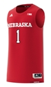 2018 Adidas Huskers Away Basketball Jersey No. 1 Nebraska Cornhuskers, Nebraska  Mens Jerseys, Huskers  Mens Jerseys, Nebraska  Mens Jerseys, Huskers  Mens Jerseys, Nebraska  Basketball, Huskers  Basketball, Nebraska 2018 Adidas Huskers Away Basketball Jersey No. 1, Huskers 2018 Adidas Huskers Away Basketball Jersey No. 1