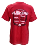2020 Final Schedule Tee Nebraska Cornhuskers, Nebraska  Mens, Huskers  Mens, Nebraska  Short Sleeve, Huskers  Short Sleeve, Nebraska  Mens T-Shirts, Huskers  Mens T-Shirts, Nebraska 2020 Final Schedule Tee, Huskers 2020 Final Schedule Tee