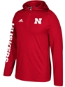 Adidas 2017 Husker Sideline Training Hoody Nebraska Cornhuskers, Nebraska  Mens T-Shirts, Huskers  Mens T-Shirts, Nebraska  Mens, Huskers  Mens, Nebraska  Long Sleeve, Huskers  Long Sleeve, Nebraska Adidas Red Sideline Training Hoody, Huskers Adidas Red Sideline Training Hoody