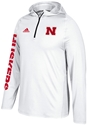 Adidas 2017 Husker Sideline Training Snow Hood Nebraska Cornhuskers, Nebraska  Mens T-Shirts, Huskers  Mens T-Shirts, Nebraska  Mens, Huskers  Mens, Nebraska  Long Sleeve, Huskers  Long Sleeve, Nebraska Adidas White Sideline Training Hoody, Huskers Adidas White Sideline Training Hoody