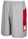 Adidas 2017 Sideline Black Team Short Nebraska Cornhuskers, Nebraska  Mens Shorts & Pants, Huskers  Mens Shorts & Pants, Nebraska Shorts & Pants, Huskers Shorts & Pants, Nebraska Adidas Gray Sideline Team Short, Huskers Adidas Gray Sideline Team Short