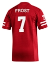Adidas 2019 Frost #7 Home Jersey Nebraska Cornhuskers, Nebraska  Mens Jerseys, Huskers  Mens Jerseys, Nebraska  Mens Jerseys, Huskers  Mens Jerseys, Nebraska  Customized Jerseys  , Huskers  Customized Jerseys  , Nebraska Adidas Blank Replica Football Jersey, Huskers Adidas Blank Replica Football Jersey