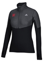 Adidas Ladies Huskers Black Quarter Zip Tech Pullover Nebraska Cornhuskers, Nebraska  Ladies Sweatshirts, Huskers  Ladies Sweatshirts, Nebraska  Ladies, Huskers  Ladies, Nebraska  Zippered, Huskers  Zippered, Nebraska Adidas Ladies Huskers Black Quarter Zip Tech Pullover, Huskers Adidas Ladies Huskers Black Quarter Zip Tech Pullover