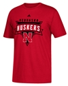 Adidas Nebraska Husker Up Tee Nebraska Cornhuskers, Nebraska  Mens T-Shirts, Huskers  Mens T-Shirts, Nebraska  Mens, Huskers  Mens, Nebraska  Short Sleeve, Huskers  Short Sleeve, Nebraska Adidas Nebraska Huskers Triangle Tee, Huskers Adidas Nebraska Huskers Triangle Tee
