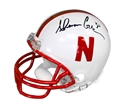 Ahman Green Signed Mini Helmet Nebraska Cornhuskers, Nebraska One of a Kind, Huskers One of a Kind, Nebraska Ahman Green Signed Football, Huskers Ahman Green Signed Football