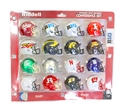 Big Ten Pocket Helmet Set Nebraska Cornhuskers, BIG TEN POCKET HELMET SET