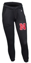 Husker Gals Jogger Cool Down Pant Nebraska Cornhuskers, Nebraska  Shorts, Pants & Skirts, Huskers  Shorts, Pants & Skirts, Nebraska Shorts & Pants, Huskers Shorts & Pants, Nebraska Black W Champ Jogger Cool Down Pant, Huskers Black W Champ Jogger Cool Down Pant