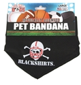 Blackshirts Dog Collar Bandana Nebraska Cornhuskers, Nebraska Pet Items, Huskers Pet Items, Nebraska Blackshirts, Huskers Blackshirts, Nebraska Blackshirts Dog Collar Bandana, Huskers Blackshirts Dog Collar Bandana