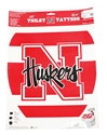 "Classic N-Huskers Elongated Toliet Seat ""Tattoo"" Nebraska Cornhuskers, Nebraska  Bedroom & Bathroom, Huskers  Bedroom & Bathroom, Nebraska Elongated Toliet Seat Tattoo, Huskers Elongated Toliet Seat Tattoo"