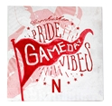 Cornhusker Pride Game Day Vibes Canvas Nebraska Cornhuskers, Nebraska  Bedroom & Bathroom, Huskers  Bedroom & Bathroom, Nebraska  Game Room & Big Red Room, Huskers  Game Room & Big Red Room, Nebraska  Framed Pieces, Huskers  Framed Pieces, Nebraska White Game Day Vibes Canvas Paulsen, Huskers White Game Day Vibes Canvas Paulsen