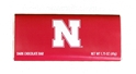 Dark Chocolate Husker Bar Nebraska Cornhuskers, Nebraska  Novelty, Huskers  Novelty, Nebraska Dark Chocolate Husker Bar, Huskers Dark Chocolate Husker Bar