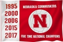 Five Time Champs Nebraska Volleyball Flag Nebraska Cornhuskers, Nebraska  Flags & Windsocks, Huskers  Flags & Windsocks, Nebraska Volleyball, Huskers Volleyball, Nebraska Five Time Champs Nebraska Volleyball Flag, Huskers Five Time Champs Nebraska Volleyball Flag