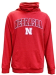 Nebraska Hoodie With Neck Gaiter Nebraska Cornhuskers, Nebraska  Mens Sweatshirts, Huskers  Mens Sweatshirts, Nebraska  Mens, Huskers  Mens, Nebraska  Hoodies, Huskers  Hoodies, Nebraska French Terry Nebraska Hoodie With Neck Gaiter, Huskers French Terry Nebraska Hoodie With Neck Gaiter