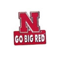 Go Big Red Lapel Pin Nebraska Cornhuskers, Nebraska  Ties & Pins, Huskers  Ties & Pins, Nebraska  Mens Accessories, Huskers  Mens Accessories, Nebraska Go Big Red Lapel Pin, Huskers Go Big Red Lapel Pin