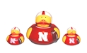 Husker Ducky 3 Pack Nebraska Cornhuskers, Nebraska  Toys & Games, Huskers  Toys & Games, Nebraska  Infant, Huskers  Infant, Nebraska  Bedroom & Bathroom, Huskers  Bedroom & Bathroom, Nebraska Husker Ducky 3 Pack, Huskers Husker Ducky 3 Pack