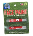 Husker Face Paint 2 Pack Nebraska Cornhuskers, Nebraska  Ladies, Huskers  Ladies, Nebraska  Ladies Accessories, Huskers  Ladies Accessories, Nebraska  Mens Accessories, Huskers  Mens Accessories, Nebraska  Beads & Fun Stuff, Huskers  Beads & Fun Stuff, Nebraska  Tattoos & Patches, Huskers  Tattoos & Patches, Nebraska Face Paint 2 Pack Worthy, Huskers Face Paint 2 Pack Worthy