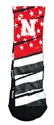 Husker Old Glory Rockem Socks Nebraska Cornhuskers, Nebraska  Underwear & PJs, Huskers  Underwear & PJs, Nebraska  Footwear, Huskers  Footwear, Nebraska  Mens, Huskers  Mens, Nebraska  Ladies, Huskers  Ladies, Nebraska Husker Old Glory Rockem Socks, Huskers Husker Old Glory Rockem Socks