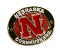 Husker Oval Pin Nebraska Cornhuskers, Nebraska  Ties & Pins, Huskers  Ties & Pins, Nebraska  Mens Accessories, Huskers  Mens Accessories, Nebraska  Ladies Accessories, Huskers  Ladies Accessories, Nebraska Husker Oval Pin, Huskers Husker Oval Pin