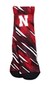 Husker Tech Slash Rockem Socks Nebraska Cornhuskers, Nebraska  Underwear & PJs, Huskers  Underwear & PJs, Nebraska  Footwear, Huskers  Footwear, Nebraska  Mens, Huskers  Mens, Nebraska  Ladies, Huskers  Ladies, Nebraska Husker Tech Slash Rockem Socks, Huskers Husker Tech Slash Rockem Socks