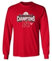 Husker Volleyball FIVE Time Champs LS Tee!  Nebraska Cornhuskers, Nebraska Volleyball, Huskers Volleyball, Nebraska  Ladies T-Shirts, Huskers  Ladies T-Shirts, Nebraska  Short Sleeve, Huskers  Short Sleeve, Nebraska  Mens, Huskers  Mens, Nebraska  Ladies, Huskers  Ladies, Nebraska  Mens T-Shirts, Huskers  Mens T-Shirts, Nebraska Husker Volleyball Four Time Champs Tee, Huskers Husker Volleyball Four Time Champs Tee