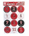 Huskers First Year Monthly Stickers Nebraska Cornhuskers, Nebraska Stickers Decals & Magnets, Huskers Stickers Decals & Magnets, Nebraska  Infant, Huskers  Infant, Nebraska Huskers First Year Monthly Stickers, Huskers Huskers First Year Monthly Stickers