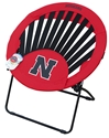 Huskers Folding Tailgate Web-Chair Nebraska Cornhuskers, Nebraska  Game Room & Big Red Room, Huskers  Game Room & Big Red Room, Nebraska  Bedroom & Bathroom, Huskers  Bedroom & Bathroom, Nebraska Round Rising Chair Bungee, Huskers Round Rising Chair Bungee