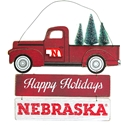 Huskers Happy Holidays Door Sign Nebraska Cornhuskers, Nebraska  Bedroom & Bathroom, Huskers  Bedroom & Bathroom, Nebraska  Game Room & Big Red Room, Huskers  Game Room & Big Red Room, Nebraska  Holiday Items, Huskers  Holiday Items, Nebraska  Framed Pieces, Huskers  Framed Pieces, Nebraska Huskers Happy Holidays Sign, Huskers Huskers Happy Holidays Sign