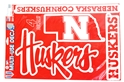 Huskers Multi Use 4 Pack Decals Nebraska Cornhuskers, Nebraska Stickers Decals & Magnets, Huskers Stickers Decals & Magnets, Nebraska Multi Use Decal 4 pack set WC, Huskers Multi Use Decal 4 pack set WC