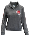 Huskers Womens Sanded Quarter Zip - Charcoal Nebraska Cornhuskers, Nebraska  Ladies Sweatshirts, Huskers  Ladies Sweatshirts, Nebraska  Ladies, Huskers  Ladies, Nebraska  Zippered, Huskers  Zippered, Nebraska Huskers Womens Sanded Quarter Zip - Charcoal, Huskers Huskers Womens Sanded Quarter Zip - Charcoal