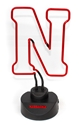 Iron N Neon Husker Cheer Light Nebraska Cornhuskers, IRON N NEON LIGHT, N LOGO NEON LIGHT