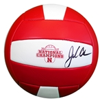John Cook 2017 National Champions Huskers Volleyball Nebraska Cornhuskers, husker volleyball, nebraska cornhuskers merchandise, husker merchandise, nebraska merchandise, husker memorabilia, husker autographed, nebraska cornhuskers autographed, John Cook autographed, John Cook signed, John Cook collectible, John Cook, nebraska cornhuskers memorabilia, nebraska cornhuskers collectible, John Cook Autographed  Volleyball