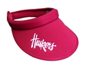 Lady Huskers Clip On Visor Nebraska Cornhuskers, Nebraska  Ladies Hats, Huskers  Ladies Hats, Nebraska  Ladies Hats, Huskers  Ladies Hats, Nebraska Lady Huskers Clip On Visor , Huskers Lady Huskers Clip On Visor