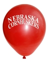 N Huskers Balloons 10 pack
