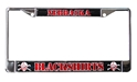 Nebraska Blackshirts Chrome License Frame Nebraska Cornhuskers, Nebraska Vehicle, Huskers Vehicle, Nebraska Nebraska Blackshirts Chrome License Frame, Huskers Nebraska Blackshirts Chrome License Frame