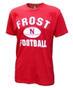 Nebraska Cornhuskers Frost Football Tee Nebraska Cornhuskers, Nebraska  Mens T-Shirts, Huskers  Mens T-Shirts, Nebraska  Mens, Huskers  Mens, Nebraska  Short Sleeve, Huskers  Short Sleeve, Nebraska Nebraska Cornhuskers Frost Football Tee, Huskers Nebraska Cornhuskers Frost Football Tee