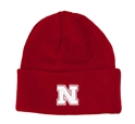 Nebraska Cuff N Knit husker football, nebraska merchandise, husker merchandise, nebraska cornhuskers apparel, husker apparel, nebraska apparel, husker hats, nebraska hats, nebraska caps, husker caps, Nebraska Cornhuskers, Reversible Official Team Beanie