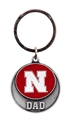 Nebraska Dad Keytag Nebraska Cornhuskers, Nebraska Vehicle, Huskers Vehicle, Nebraska Nebraska Dad Keytag, Huskers Nebraska Dad Keytag