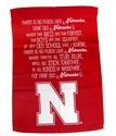 Nebraska Fight Song Banner Garden Flag Nebraska Cornhuskers, Nebraska  Flags & Windsocks, Huskers  Flags & Windsocks, Nebraska  Patio, Lawn & Garden, Huskers  Patio, Lawn & Garden, Nebraska Nebraska Fight Song Banner Garden Flag, Huskers Nebraska Fight Song Banner Garden Flag