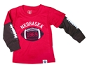 Nebraska Football 1869 Kids Tee Nebraska Cornhuskers, Nebraska  Infant, Huskers  Infant, Nebraska  Childrens, Huskers  Childrens, Nebraska  Kids, Huskers  Kids, Nebraska Nebraska Football 1869 Kids Tee, Huskers Nebraska Football 1869 Kids Tee