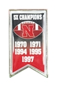 Nebraska Football Champions Lapel Pin Nebraska Cornhuskers, Nebraska  Jewelry & Hair, Huskers  Jewelry & Hair, Nebraska  Ladies Accessories, Huskers  Ladies Accessories, Nebraska  Mens Accessories, Huskers  Mens Accessories, Nebraska Nebraska Football Champions Lapel Pin, Huskers Nebraska Football Champions Lapel Pin