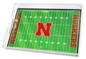 Nebraska Husker Football Field Serving Tray Nebraska Cornhuskers, Nebraska  Kitchen & Glassware, Huskers  Kitchen & Glassware, Nebraska  Tailgating, Huskers  Tailgating, Nebraska Football Field Serving Tray FG, Huskers Football Field Serving Tray FG