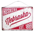 Nebraska Huskers Legacy Tin Sign Nebraska Cornhuskers, Nebraska  Bedroom & Bathroom, Huskers  Bedroom & Bathroom, Nebraska  Game Room & Big Red Room, Huskers  Game Room & Big Red Room, Nebraska  Framed Pieces, Huskers  Framed Pieces, Nebraska Nebraska Huskers Legacy Tin Sign, Huskers Nebraska Huskers Legacy Tin Sign