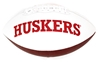 Nebraska Icons Autographed Football - JH-A8708