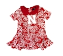 Nebraska Infant Girls Sasha Onesie Dress Nebraska Cornhuskers, Nebraska  Infant, Huskers  Infant, Nebraska Nebraska Infant Girls Sasha Onesie Dress, Huskers Nebraska Infant Girls Sasha Onesie Dress