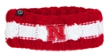 Nebraska Intrepid Knit Earband Nebraska Cornhuskers, Nebraska  Ladies Hats, Huskers  Ladies Hats, Nebraska  Ladies Hats, Huskers  Ladies Hats, Nebraska Intrepid Thick Earband Stripe N Logo, Huskers Intrepid Thick Earband Stripe N Logo