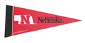 Nebraska Mini Pennant Nebraska Cornhuskers, Nebraska  Game Room & Big Red Room, Huskers  Game Room & Big Red Room, Nebraska  Bedroom & Bathroom, Huskers  Bedroom & Bathroom, Nebraska  Prints & Posters, Huskers  Prints & Posters, Nebraska Red Mini Pennant Rico, Huskers Red Mini Pennant Rico