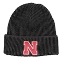 Nebraska N Waffle Cuff Knit - Black Nebraska Cornhuskers, Nebraska  Mens Hats, Huskers  Mens Hats, Nebraska  Mens, Huskers  Mens, Nebraska  Ladies, Huskers  Ladies, Nebraska  Ladies Hats, Huskers  Ladies Hats, Nebraska Nebraska N Waffle Cuff Knit - Black, Huskers Nebraska N Waffle Cuff Knit - Black