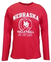 Nebraska Volleyball Go Big Red LS Tee Nebraska Cornhuskers, Nebraska  Ladies T-Shirts, Huskers  Ladies T-Shirts, Nebraska  Ladies, Huskers  Ladies, Nebraska  Mens T-Shirts, Huskers  Mens T-Shirts, Nebraska  Mens, Huskers  Mens, Nebraska Volleyball, Huskers Volleyball, Nebraska Red LS Nebraska Vball Tee Summit, Huskers Red LS Nebraska Vball Tee Summit