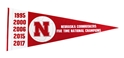 Nebraska Volleyball Pennant Five Time Champs Nebraska Cornhuskers, Nebraska  Flags & Windsocks, Huskers  Flags & Windsocks, Nebraska Volleyball, Huskers Volleyball, Nebraska Nebraska Volleyball Pennant Five Time Champs, Huskers Nebraska Volleyball Pennant Five Time Champs
